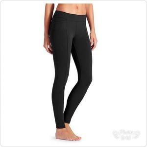 Athleta black metro leggings small